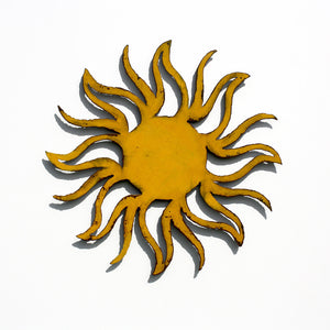 "Sun - Metal Wall Art Home Decor - Handmade in the USA - 23"" x 23"", Choose your Patina Color - Free Ship"