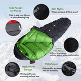 Load image into Gallery viewer, 4Monster Caterpillar Down Sleeping Bag Original Pure