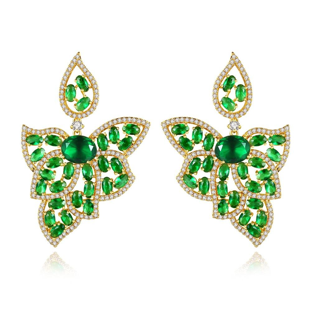 Luxury Leaf Earrings