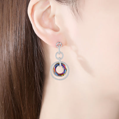 Enlightening Donuts Earring