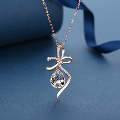 Bowknot necklace