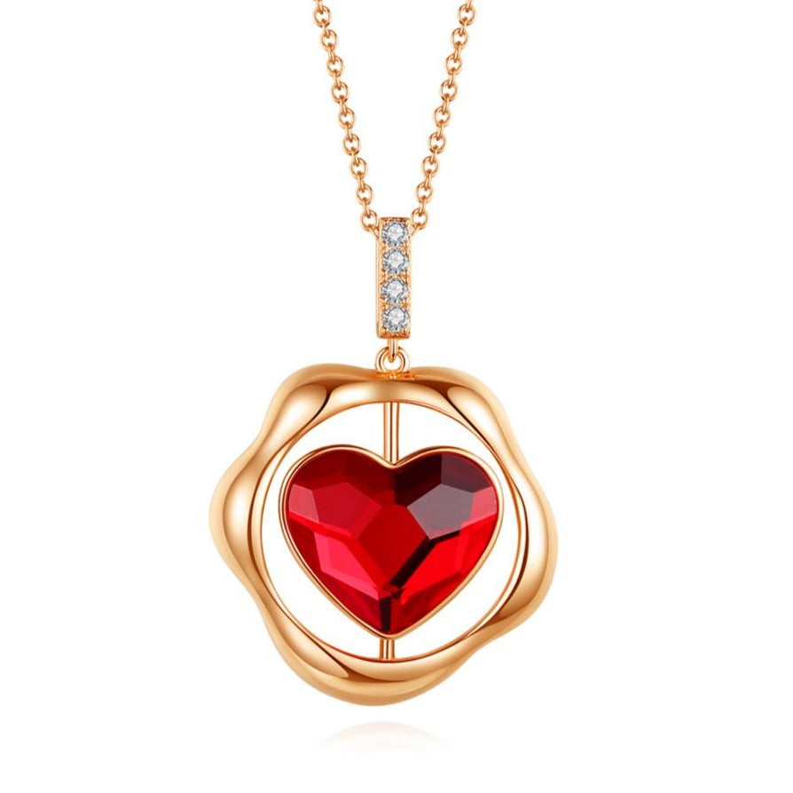 Endless Love Heart Necklace