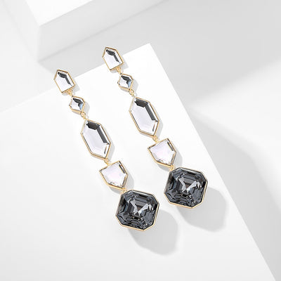 Imperial Black Earrings