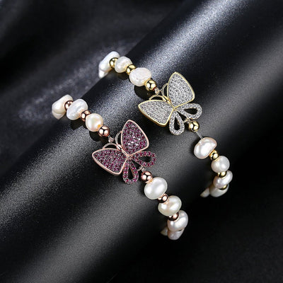 Luxurious Butterfly Bracelet-Handmade Jewelry