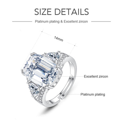 Luxury Zircon Rings