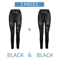 High Waist Shapewear Anti Cellulite Compression Leggings