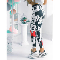 3D Mickey Women Leggings Stretchy Fitness Women