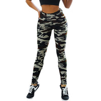 Camo High Waist Tummy Control Slimming Booty Leggings