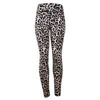 Exercise Leopard Fitness Gym Sport Women  Running  Leggings