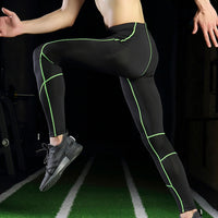 Men Compression Pants Elastic Breathable Anti-sweat Quick Drying leggings