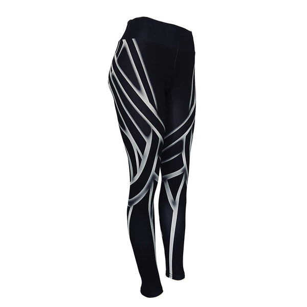Breathable Quick Dry Running Elastic Waist Sports Leggings Trousers