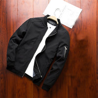 "Men""s Jackets Spring Autumn Casual Coats Bomber Jacket Slim"