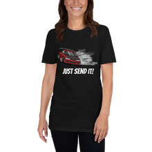 "Load image into Gallery viewer, ""Just Send It' Unisex T-Shirt"