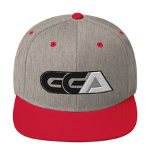 Load image into Gallery viewer, GGA Black and White Snapback Hat