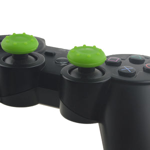2pcs Plain color Silicone Thumb Stick Grips