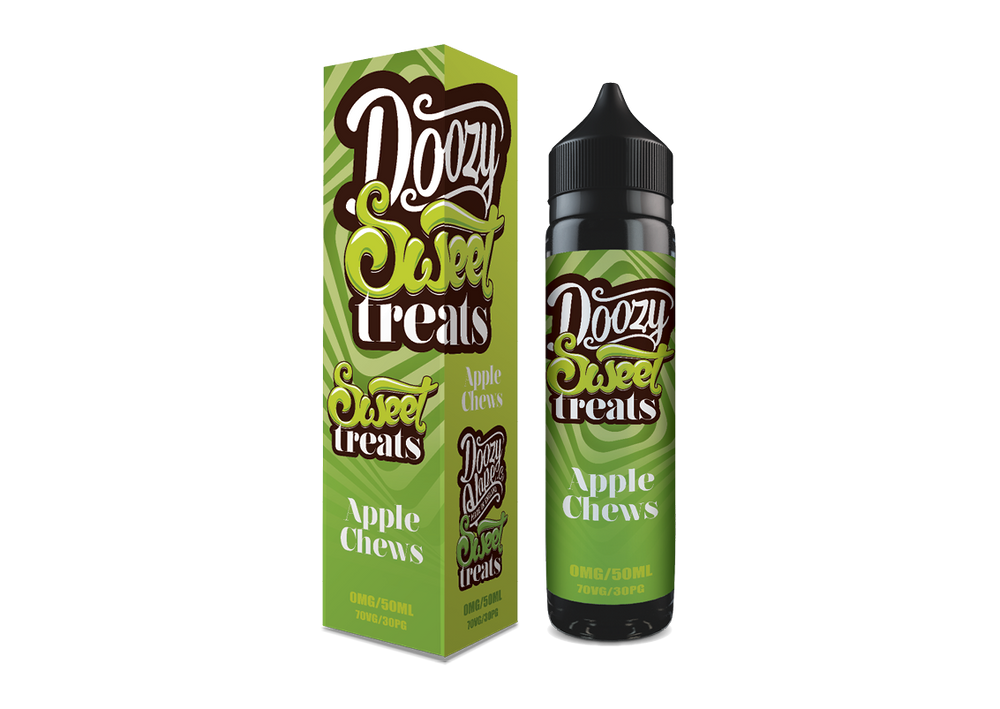 Apple Chews -50ml Doozy Sweet Treats