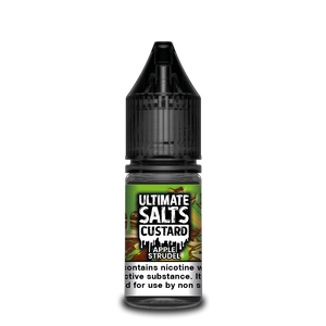 Ultimate Salts Custard 10ml Apple Strudel (Box of 10)