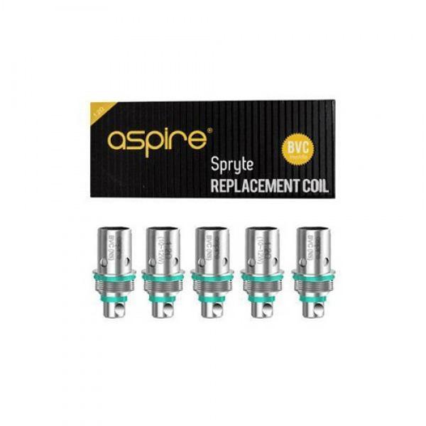 Aspire Spryte 1.2ohm Coils (pack of 5)