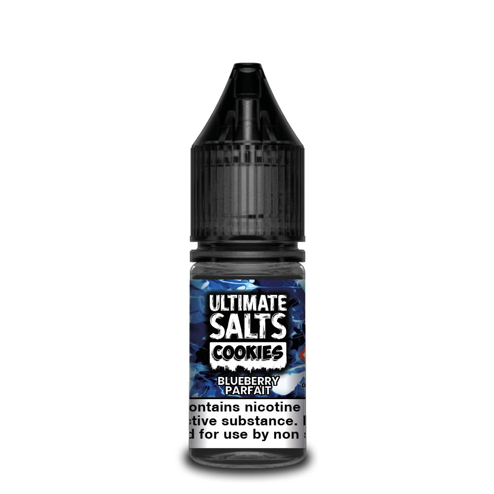 Ultimate Salts Cookies 10ml Blueberry Parfait (Box of 10)