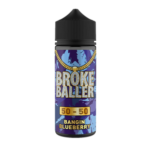 Broke Baller 80ml Banging Blueberry