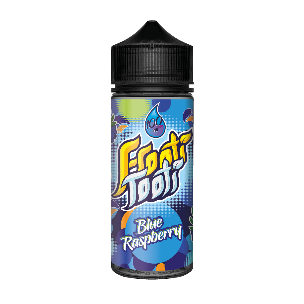 Blue Raspberry 100ml Frooti Tooti
