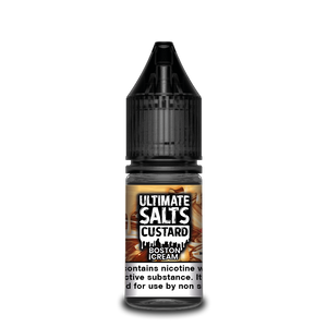 Ultimate Salts Custard 10ml Boston Cream (Box of 10)