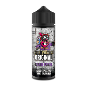 Old Pirate Original 100ml Short Fill Cabin Fever