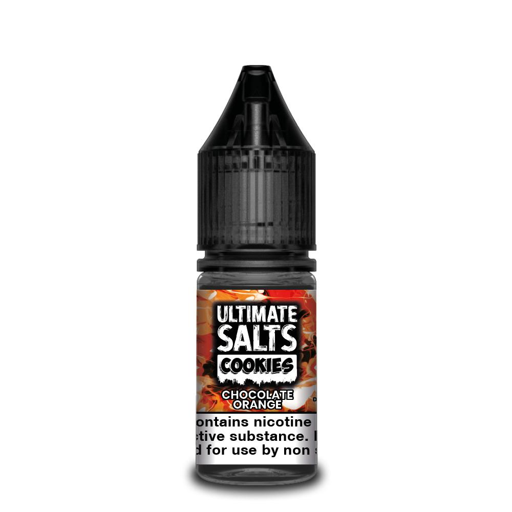 Ultimate Salts Cookies 10ml Chocolate Orange (Box of 10)