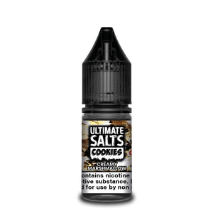 Ultimate Salts Cookies 10ml Creamy Marshmallow (Box of 10)