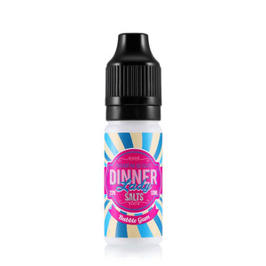 Dinner Lady Bubble Gum 10ml Nic Salt (PACK OF 10)