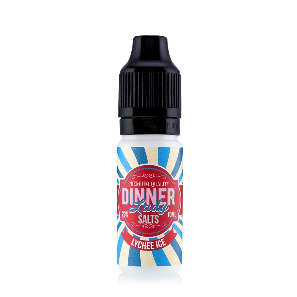 Dinner Lady Lychee Ice 10ml Nic Salt
