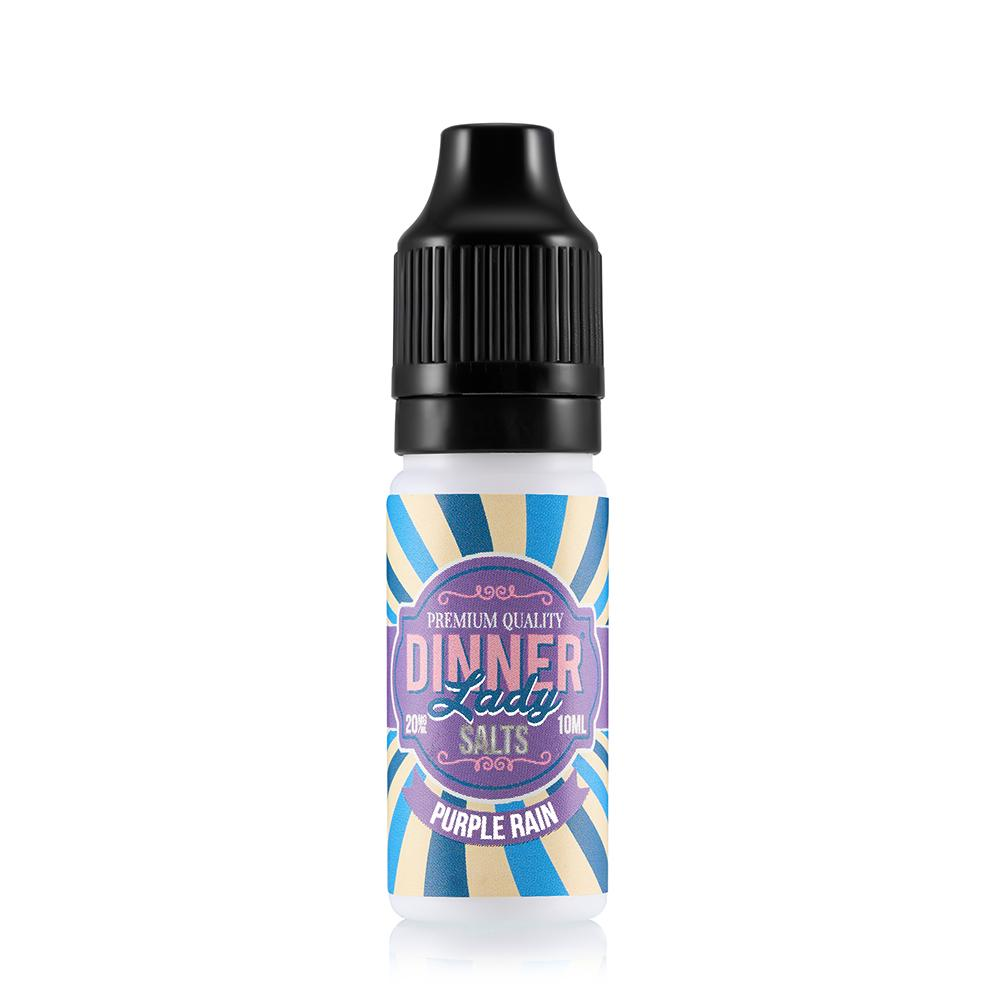 Dinner Lady Purple Rain 10ml Nic Salt