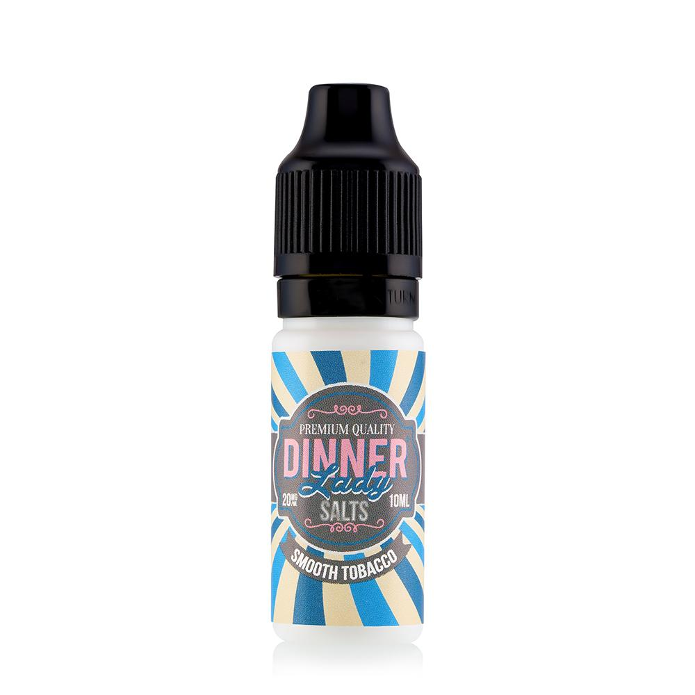 Dinner Lady Smooth Tobacco 10ml Nic Salt (PACK OF 10)
