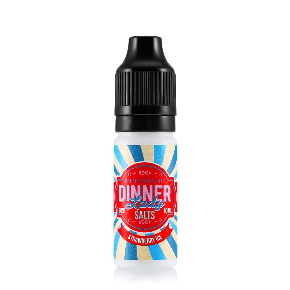 Dinner Lady Strawberry Ice 10ml Nic Salt