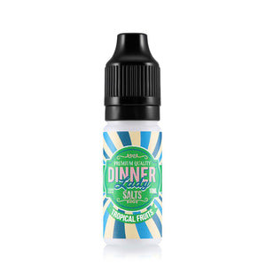 Dinner Lady Tropical Fruits 10ml Nic Salt (PACK OF 10)