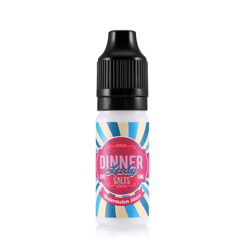 Dinner Lady Watermelon Slices 10ml Nic Salt