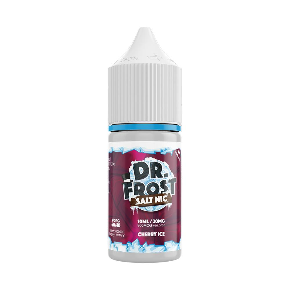 Dr Frost Cherry Ice 10ml Nic Salt (PACK OF 10)