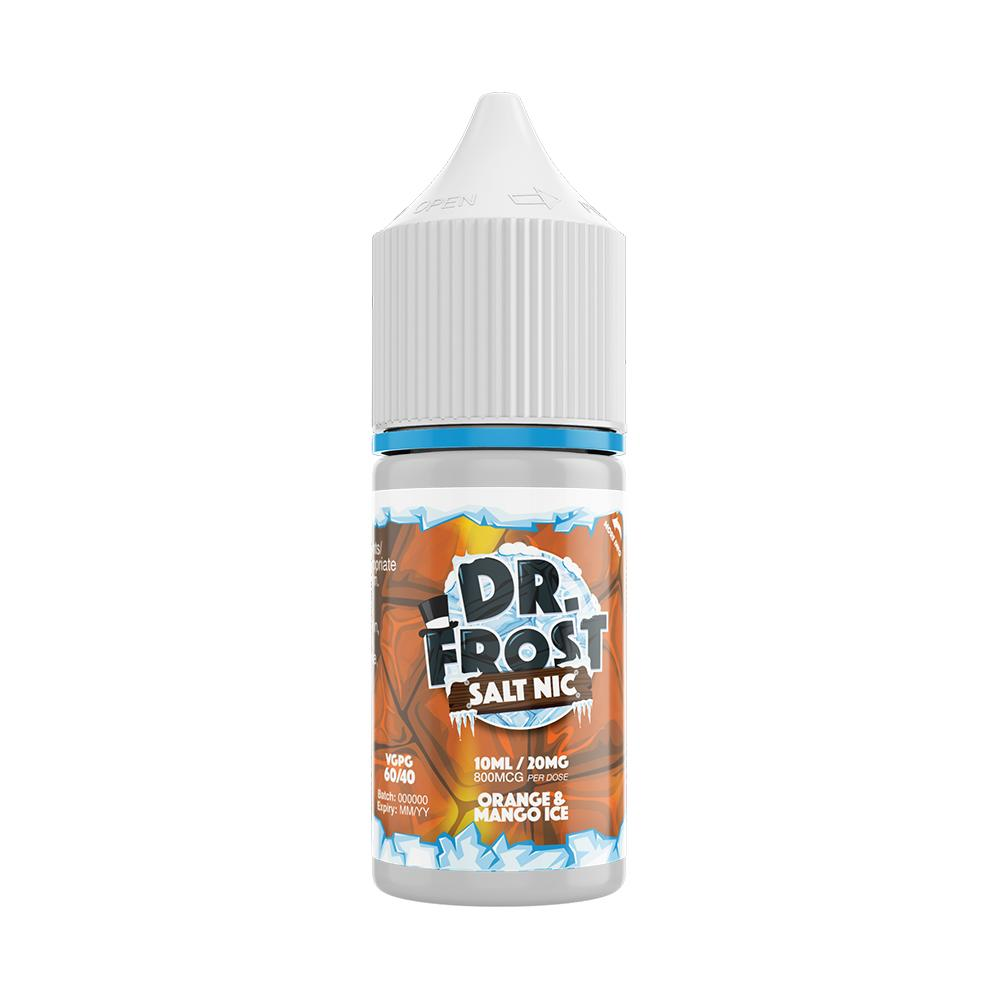 Dr Frost Orange & Mango Ice 10ml Nic Salt (PACK OF 10)