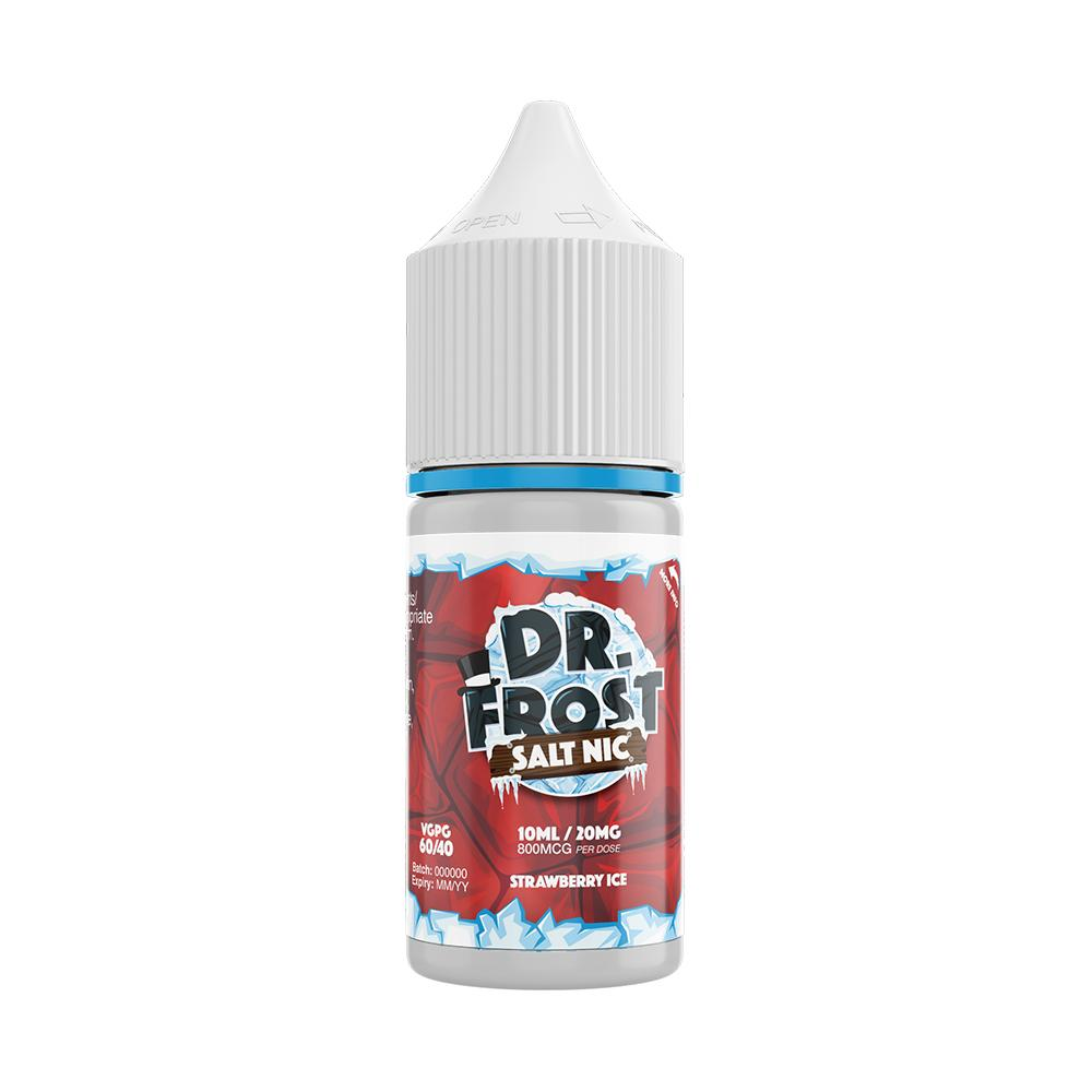 Dr Frost Strawberry Ice 10ml Nic Salt (PACK OF 10)