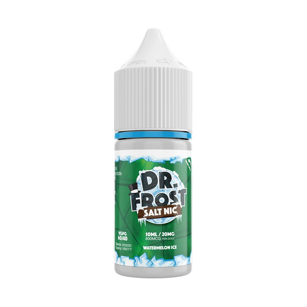 Dr Frost Watermelon Ice 10ml Nic Salt (PACK OF 10)