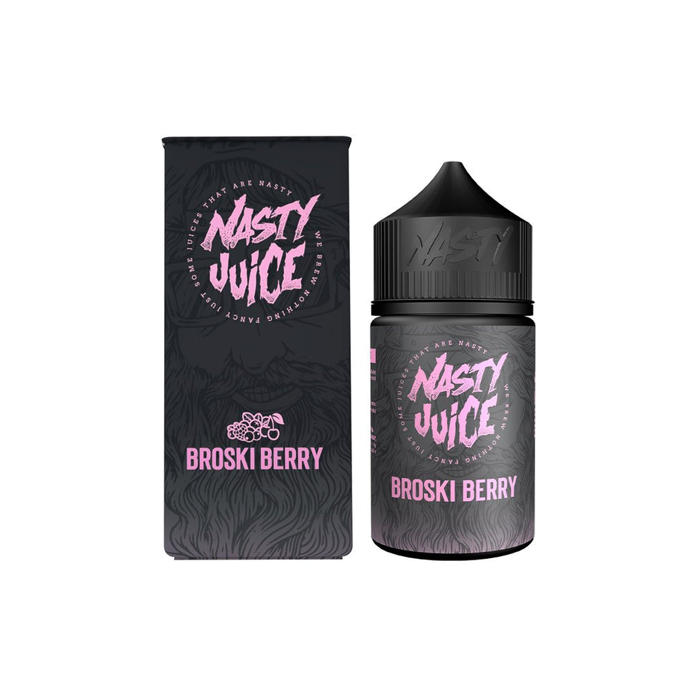 Broski Berry 50ml Nasty Juice Berry Series