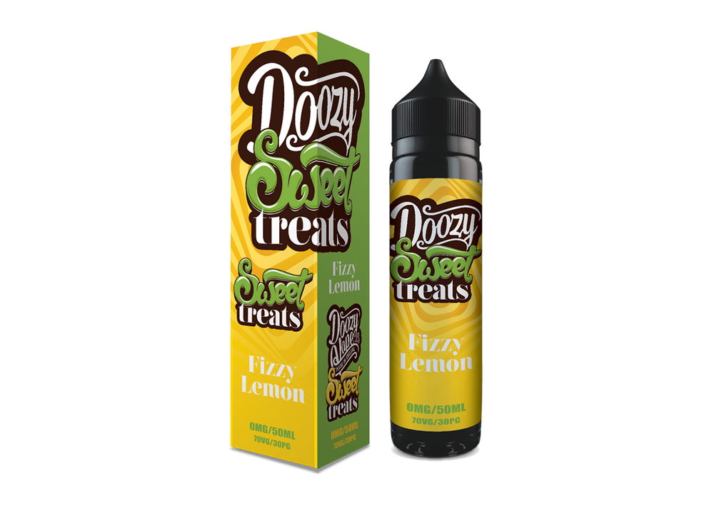 Fizzy Lemon 50ml by Doozy Sweet Treats