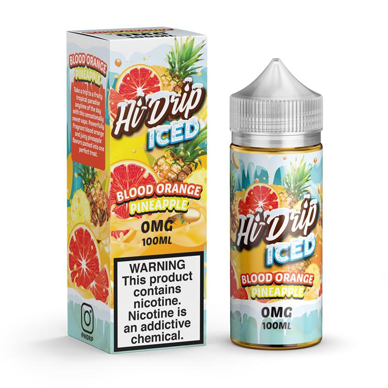 Iced Blood Orange Pineapple 100ml Hi Drip