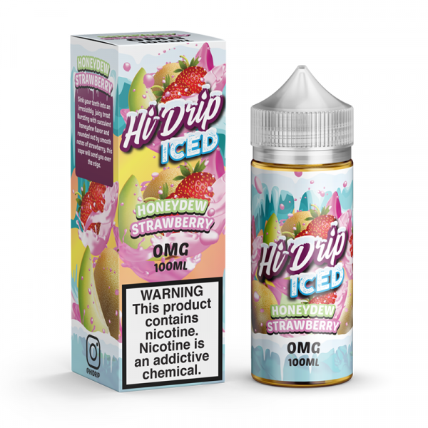 Iced Honeydew Strawberry 100ml Hi Drip