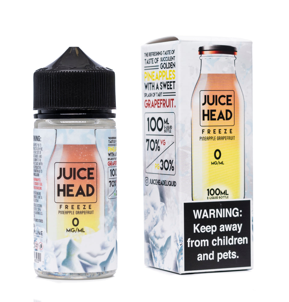 Pineapple Grapefruit Ice 100ml Juice Head Freeze