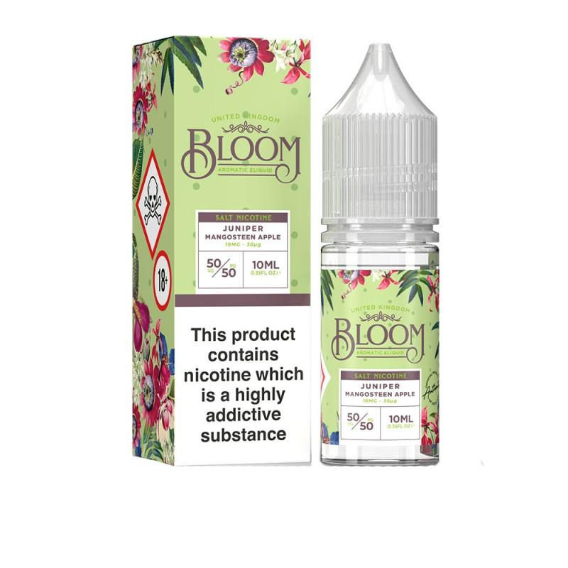 Juniper Mangosteen Apple 10ml Bloom e-liquid