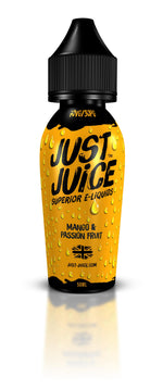 Mango & Passion Fruit 50ml Just Juice