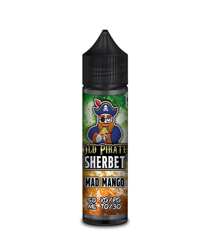 Old Pirate Mad Mango Sherbet 50ml Short-fill