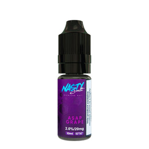 Nasty Salt Asap Grape 10ml Salts