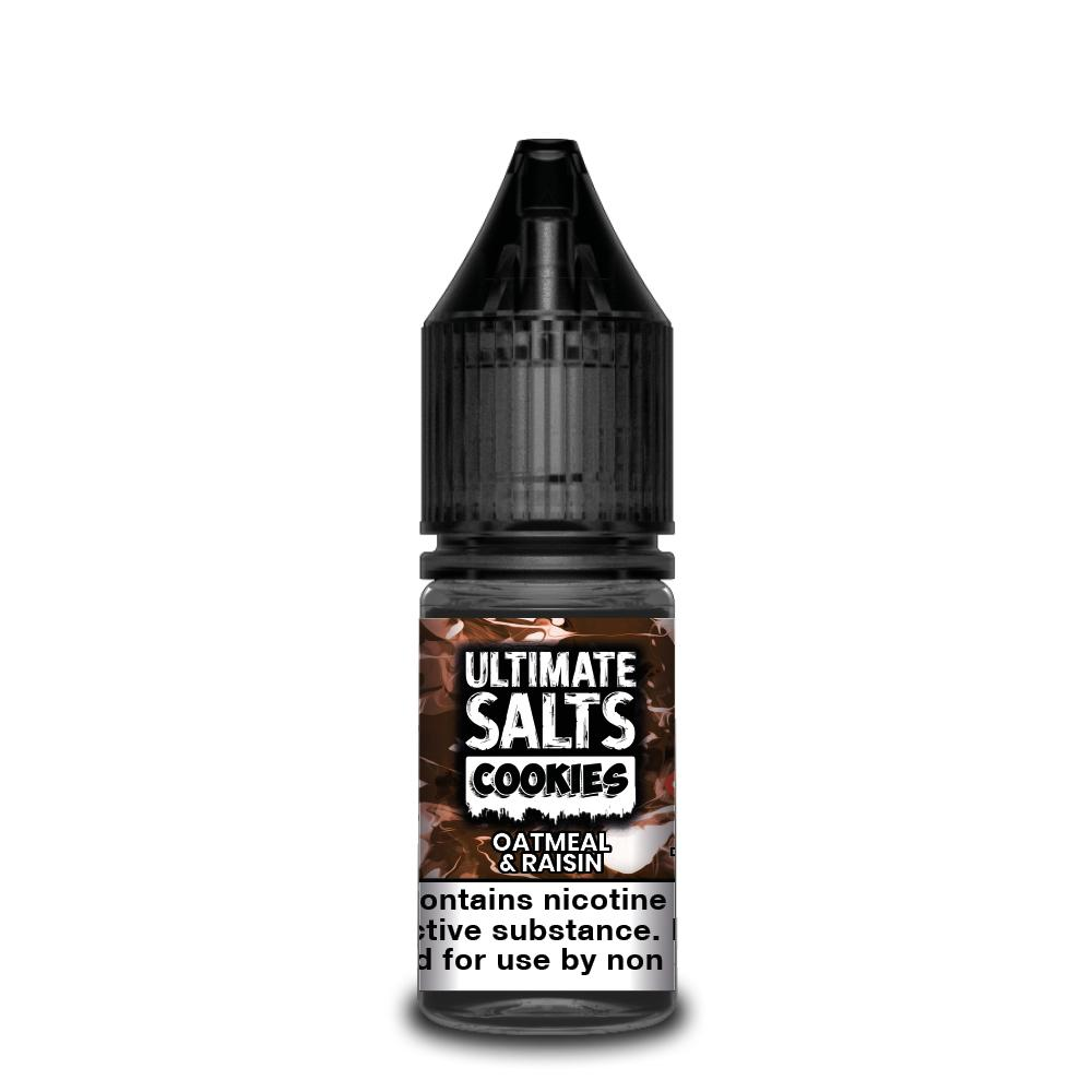 Ultimate Salts Cookies 10ml Oatmeal Raisin (Box of 10)